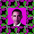 Obama Abstract Window 20130202m60 by Wingsdomain Art and Photography