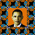 Obama Abstract Window 20130202p28 by Wingsdomain Art and Photography
