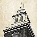 Old North Church In Boston by Elena Elisseeva