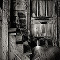 Old Room - Rustic - Inside The Windmill by Gary Heller