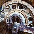 Old Rusty Vintage Industrial Machinery by Dirk Ercken