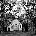 Old School House In The Woods by Thomas J Rhodes