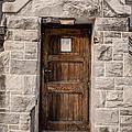 Old Stone Church Door by Edward Fielding