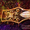Out Of Tune Digital Guitar Art By Steven Langston by Steven Lebron Langston