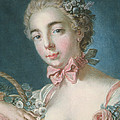 Head Of Flora by Francois Boucher