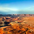 Painted Canyonland by Robert Bales
