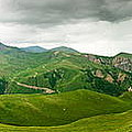 Panoramic Green Mountains by Boon Mee