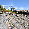 Pemaquid Point Lighthouse In Maine by Olivier Le Queinec