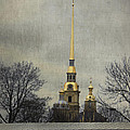Peter And Paul Fortress by Elena Nosyreva