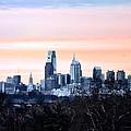 Philadelphia From Belmont Plateau by Bill Cannon