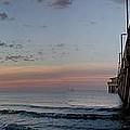 Pier Panorama At Sunrise  by Michael Thomas