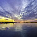 Pier Sunrise by Vicki Jauron