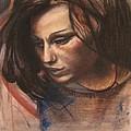 Pietro Annigoni-study Of Eva by Svetlana Rudakovskaya