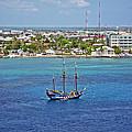 Pirate Ship In Cozumel by Aimee L Maher Photography and Art Visit ALMGallerydotcom