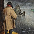 Pissing At The Moon  by Pieter the Younger Brueghel