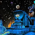 Planet Of Shiva  by Jason Saunders