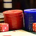 Poker Chips by Paul Ward