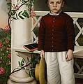 Portrait Of A Boy by James B Read