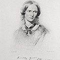 Portrait Of Charlotte Bronte, Engraved by George Richmond