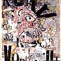 Portrait Of Kurt Vonnegut by Karl Frey