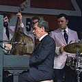 President Nixon Singing And Playing by Everett