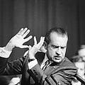 President Richard Nixon Gesturing by Everett