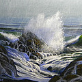 Raging Surf by Frank Wilson