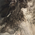 Raging, Wotan Rides To The Rock! Like by Arthur Rackham