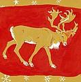 Reindeer by George Adamson