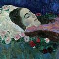 Ria Munk On Her Deathbed by Gustav Klimt