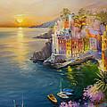 Riomaggiore by Roman Romanov