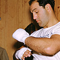 Rocky Marciano Getting Ready by Retro Images Archive