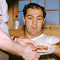 Rocky Marciano Getting Taped Up by Retro Images Archive