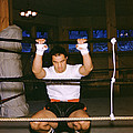 Rocky Marciano Stretching by Retro Images Archive