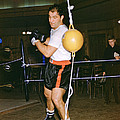 Rocky Marciano Training Hard by Retro Images Archive