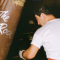 Rocky Marciano Vs. Heavy Bag by Retro Images Archive