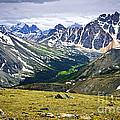 Rocky Mountains In Jasper National Park by Elena Elisseeva