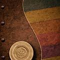 Rose Button by Tom Mc Nemar