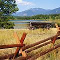 Rustic Wagon by Marty Koch