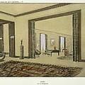 Salon, From Repertoire Of Modern Taste by Jacques-Emile Ruhlmann