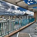 San Juan Puerto Rico Hdr Cityscape by Amy Cicconi