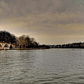 Schuylkill River On A Cloudy Day by Bill Cannon