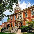 Sewickley Pennsylvania Municipal Hall by Amy Cicconi