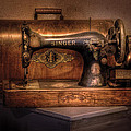 Sewing Machine  - Singer  by Mike Savad