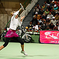 Sharapova At Qatar Open by Paul Cowan