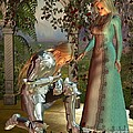 Sir Launcelot And Queen Guinevere by Fairy Fantasies