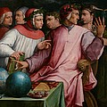 Six Tuscan Poets by Giorgio Vasari