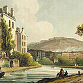 South Parade From Bath Illustrated by John Claude Nattes