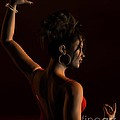 Spanish Flamenco Dancer - 1 by Fairy Fantasies