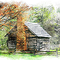 Spring Cabin II - Blue Ridge Parkway by Dan Carmichael